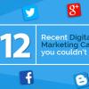 12 recent digital marketing campaigns